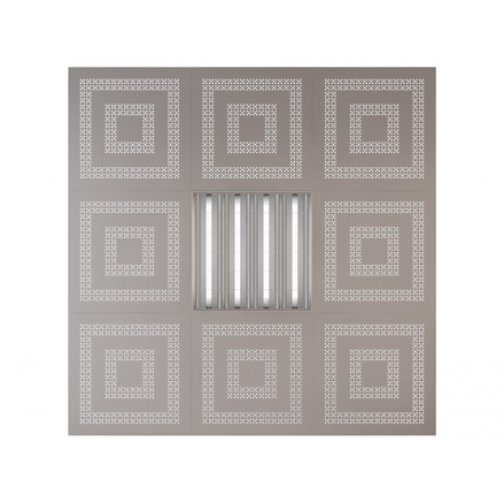 Потолочная плита Presko Эллада 59.5х59.5 металлик-6768525