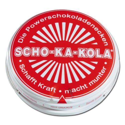 SCHO-KA-KOLA Шоколад SCHO-KA-KOLA горький энергетический 100 г.-5017600