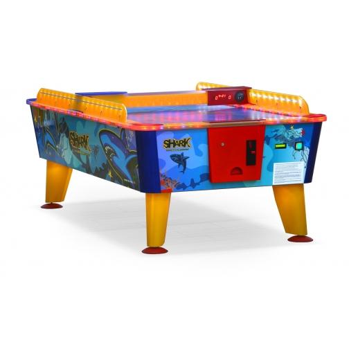 Dynamic Billard Всепогодный аэрохоккей Dynamic Billard «Shark» 6 ф (199 х 107 х 83 см, синий, купюроприемник) арт. 57.002.06.0-5803031
