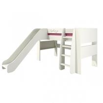 Кровать двухъярусная с горкой Сакура КРД120-2Д0