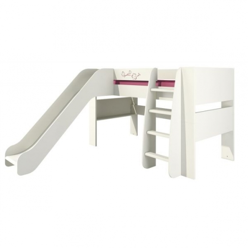 Кровать двухъярусная с горкой Сакура КРД120-2Д0 217480