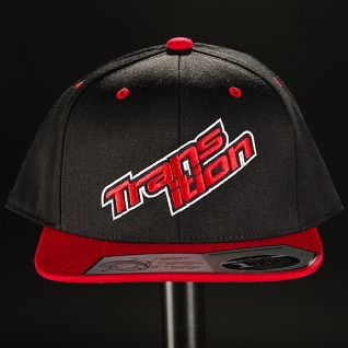 Кепка TBC Snap-Back Hat (Size: Adjustable, Color: Black / Red, Graphic: Red Split Logo)