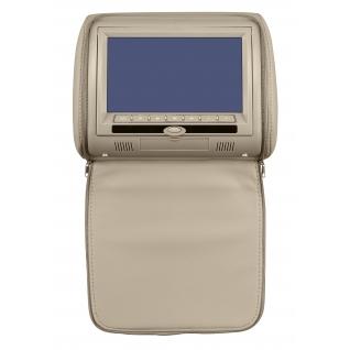"""Подголовник с монитором 9"""" и встроенным DVD плеером FarCar-Z009 (Grey)-36994956"""