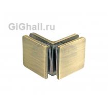 Коннектор стекло - стекло 90 гр. T-725 OBR