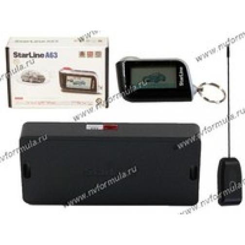Автосигнализация Star Line A63 Dialog ж/к обратная связь-9060203