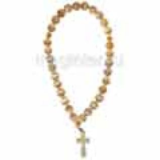 Четки православные из селенита, 14 мм-9056783
