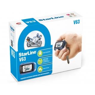 Мотосигнализация StarLine V63 Moto StarLine-5762508