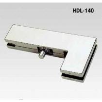 HDL-140 SSS Угловой фиксатор с осью к верхней петле для стеклянных дверей.