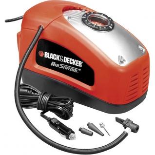Автомобильный компрессор Black&Decker ASI300 Black+Decker-7050945