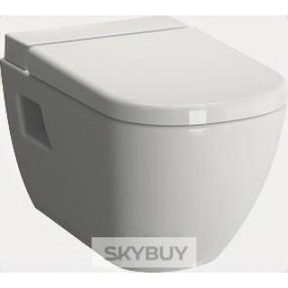 Унитаз подвесной VitrA D-Light 5911B003-1086 с емкостью для чистящей жидкости, безободковый