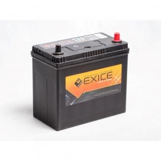 Аккумулятор EXICE 60B24L Asia 45 Ач PROFESSIONAL обратная полярность - 60B24L EXICE (ЭКСИС) 60B24L-2060633