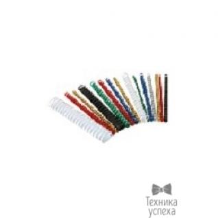 Fellowes Lamirel Пружина пластиковая LA-7867801 (19 мм. Цвет: белый, 100 шт.)-6870512
