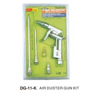 Пистолет обдувочный с комплектом сопел 3пр. Partner-6002978
