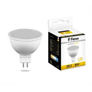 Светодиодная лампа Feron LB-560 (9W) 230V G5.3 2700K MR16-8164326