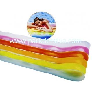 Шезлонг Intex Цветные волны с подушкой 191 x 81 см-847941