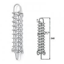 Амортизатор швартовый CIM нерж. 340мм (1810-0307)