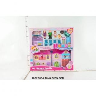 Дом Для Кукол, Свет+Звук, С Фигурками И Аксесс. 8096-1-37794112