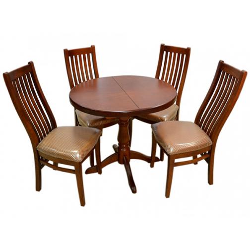 Обеденная группа стол овальный со стульями «Григор»-6723758