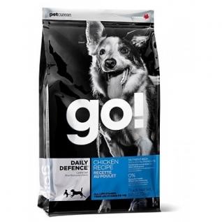 GO! NATURAL Holistic GO! Корм Для Щенков и Собак с Цельной Курицей, фруктами и овощами (Daily Defence Chicken Dog Recipe 24/14) 2,72 кг