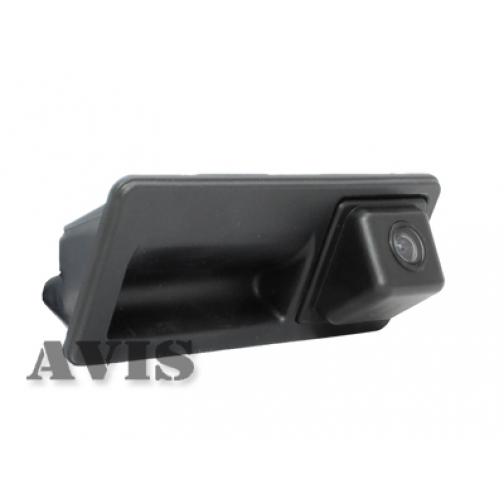 CCD штатная камера заднего вида AVIS AVS321CPR для AUDI A1/A4/A5/A7/Q3/Q5 (#003), интегрированная с ручкой багажника Avis-832919