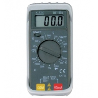 Карманный цифровой мультиметр СЕМ DT-102-6766006