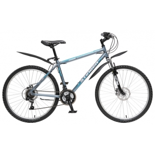 Stinger Велосипед Stinger Element D (2015) L серый-453432