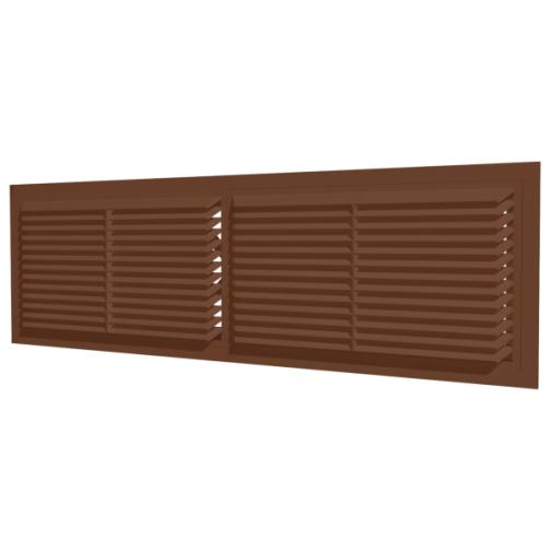 Решетка радиаторная коричневая ERA 4513РП (30шт/уп)-6770484