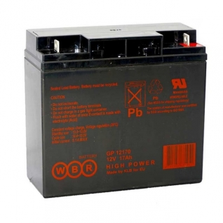 WBR Батарея WBR GP 12170 (12 В, 17 а/ч) GP12170