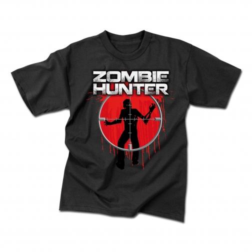 Rothco Футболка Rothco Zombie Hunter, цвет черный 5017885