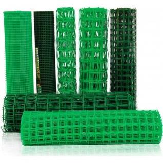 Садовая сетка, 2х25м, (ячейка 23х23мм) зеленая-6442940