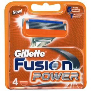 Gillette Fusion power 4 шт