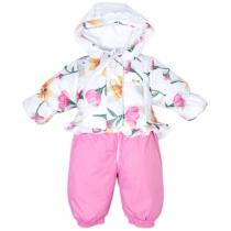 Комплект: Куртка + Полукомбинезон, Цветы