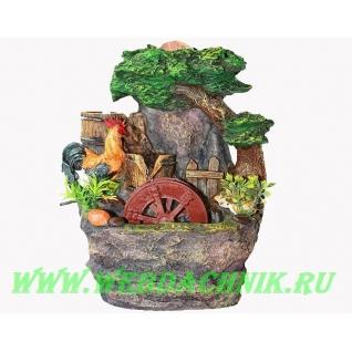 Декоративный фонтан | Настольный для дома | Мельница с шариком 28-5254629