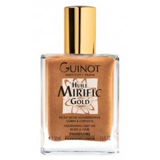 Guinot Huile Mirific Gold - Сухое питательное золотое масло для кожи тела и волос