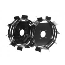 Грунтозацепы FM-3040 сварные, без втулки, два обруча, ш.100 мм, диаметр 390 мм. (комплект) (FERMER) FERMER