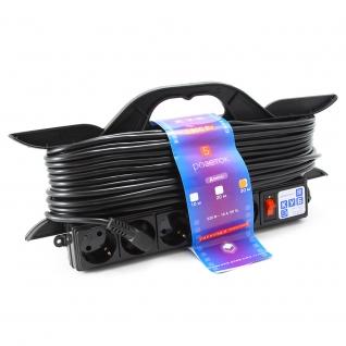 """Удлинитель на рамке """"PowerCube"""" 16А/3,5 кВт, 5 розеток, 30м-6439848"""