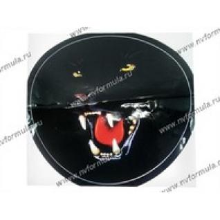 Наклейка на запасное колесо Пантера R56,5см-432663