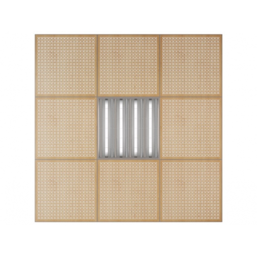 Потолочная плита Presko Эфес 59.5х59.5-6768507