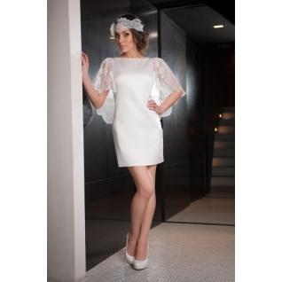 Платье свадебное Короткие свадебные платья⇨Лайма-661951