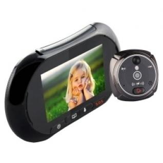 Видеоглазок в дверь с записью на SD карту, звонком и датчиком движения iHome2-5006117