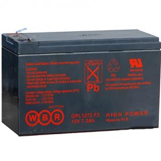 WBR Батарея WBR GP 1272 / GP1270 (12 В, 7 а/ч) GP1272