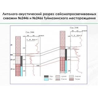 Технология поисков целиков нефти методом межскважинного разно-амплитудного сейсмопросвечивания-8916632