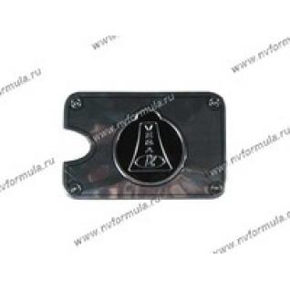 Наклейка на лючок бензобака Lada 2110-12-432671