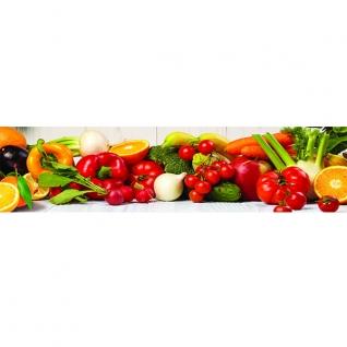 Фартук для кухни Овощи 600х2440мм-37623214