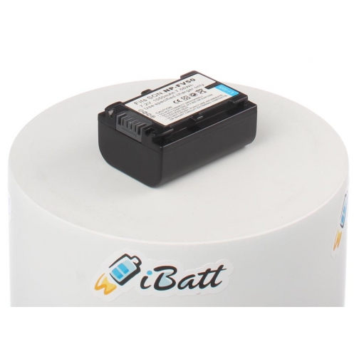 Аккумуляторная батарея iBatt для фотокамеры Sony DCR-SX73E. Артикул iB-F298 iBatt-6803946
