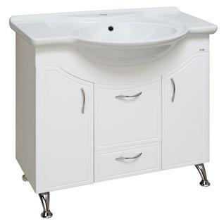 Тумба для ванной Runo Севилья 85 без Раковины (Дрея 85) Белая