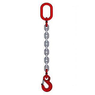 Стропы цепные 1 СЦ, 5,3 т, 13 мм, длина 4 м, одноветвевые стропы-6822342