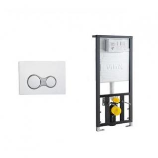 Система инсталляции для унитазов VITRA 12 S 700-1873 с кнопкой-6759192