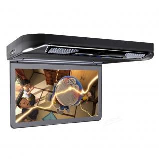 """Автомобильный потолочный монитор 13.3"""" со встроенным Full HD медиаплеером ERGO ER13S-DVD (черный) Ergo-5763555"""