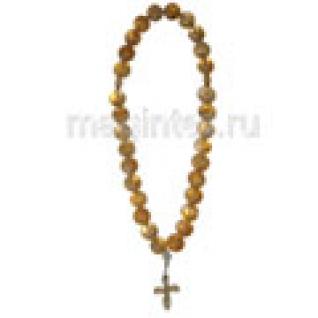 Четки православные из цитрина, 8 мм-9056788